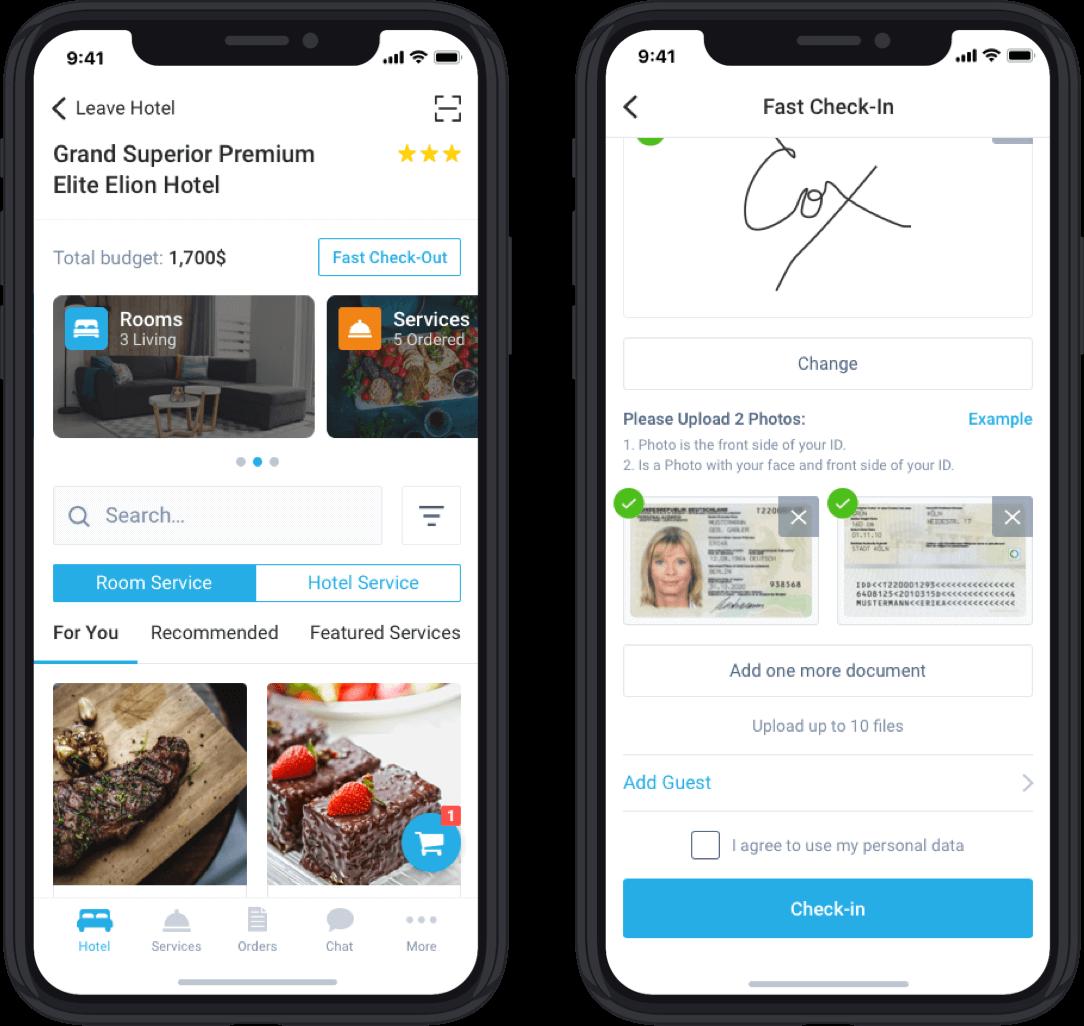 Mobile Guest App