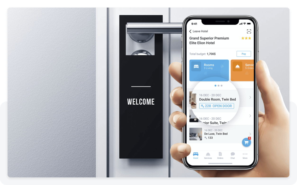 Contactless Room Opening